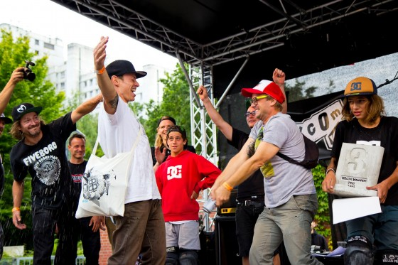 Jürgen Horrwarth wins Volcom Bergfest 2012