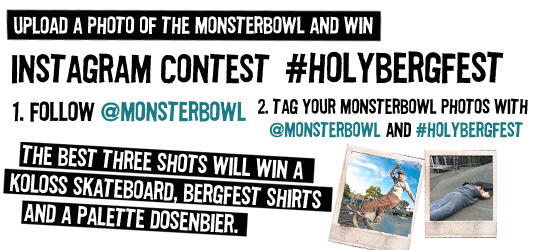 Monsterbowl photo contest…