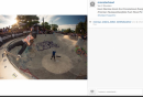 Skatepark Berg Fidel Instagram launch